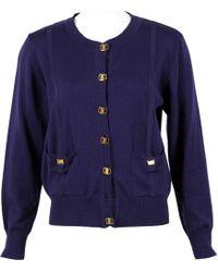 Ferragamo - Purple Wool - Lyst