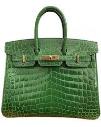 Hermès - Birkin 25 Krokodil Handtaschen - Lyst