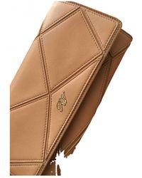 Roger Vivier Leather Wallet - Natural