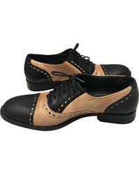 Zadig & Voltaire Leather Lace Ups - Black