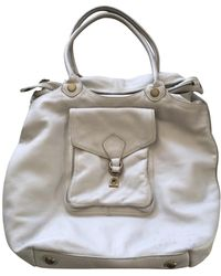 Marc By Marc Jacobs White Leather Handbag