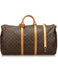 Louis Vuitton - Keepall Cloth 48h Bag - Lyst