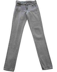Maison Margiela Skinny jeans - Grau