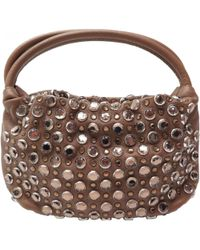 Sonia Rykiel - Domino Leather Handbag - Lyst