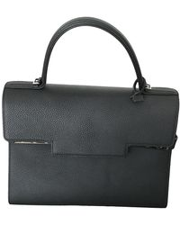 Delvaux Tempête Leather Crossbody Bag - Black
