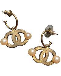 Chanel Orecchini CC - Metallizzato