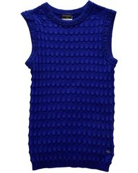 Chanel Wolle Pullover - Blau