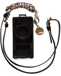 Versace Black Patent Leather Purse/wallet
