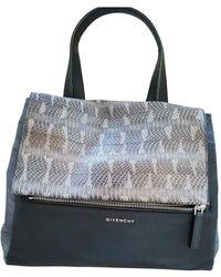 Givenchy Pandora Python Handbag - Multicolour