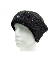 Chanel Cappelli in lana nero