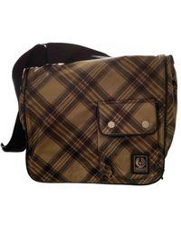 Belstaff Cloth Crossbody Bag - Natural