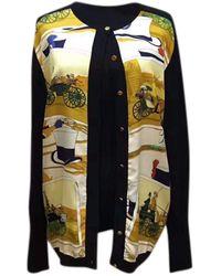Hermès Black Silk Knitwear