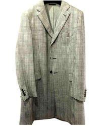 Loewe Wool Coat - Grey