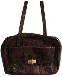 MCM Leder Handtaschen - Braun