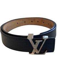 Louis Vuitton Cloth Belt - Black