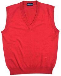 Dior Wool Vest - Red