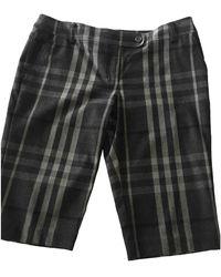 Burberry Short Trousers - Black