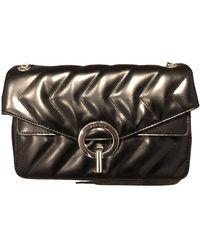Sandro Yza Leather Handbag - Black