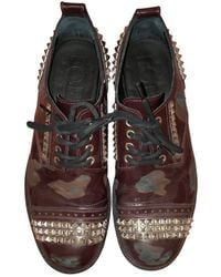 Loewe Leather Lace Ups - Multicolour