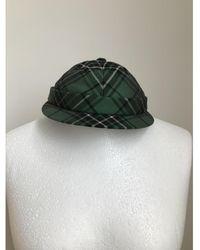 Bottega Veneta Wool Cap - Green