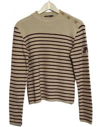 Jean Paul Gaultier Wool Pull - White