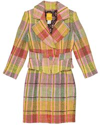 Christian Lacroix \n Multicolor Wool Jacket