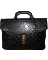 Chanel | Timeless Leather Satchel | Lyst
