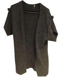 IRO Anthracite Wool Knitwear - Black