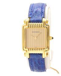 Boucheron Reflet Gelbgold Uhren - Mettallic
