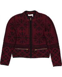 Chloé Wool Jacket - Purple