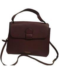 Burberry Leather Handbag - Multicolour
