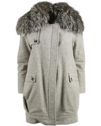Jenni Kayne - Grey Wool Coat - Lyst