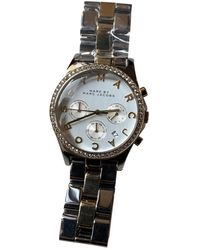 Marc By Marc Jacobs Gold Steel Watch - Multicolour