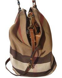 Burberry Crossbody Bag - Brown