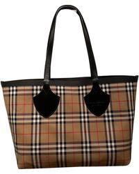 Burberry - The Giant Other Cotton Handbag - Lyst