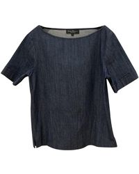 Ferragamo Blue Denim - Jeans Top