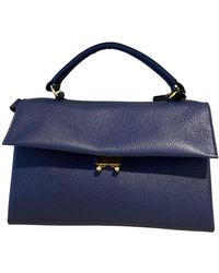 Marni Leather Handbag - Blue