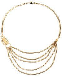 migliore a buon mercato 03e62 4eaaa Collane in metallo dorato - Metallizzato