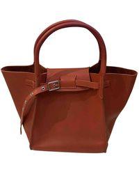 Céline Big Bag Leder Handtaschen - Orange