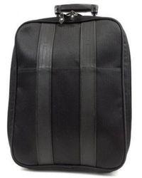 Hermès \n Black Cloth Travel Bag