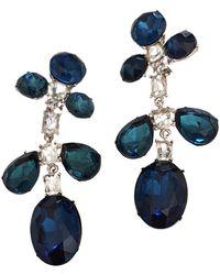 Kenneth Jay Lane Earrings - Blue
