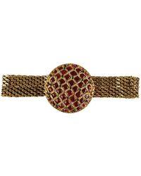 Chanel Gold Metal Belt - Metallic