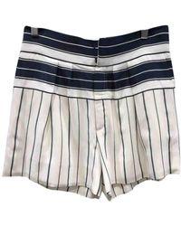 Chloé Shorts en Coton - Multicolore