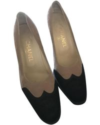Chanel Pony-style Calfskin Heels - Natural