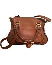 Chloé Marcie Leather Handbag - Multicolor