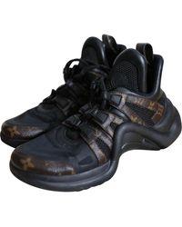 Louis Vuitton Archlight Multicolor Cloth Sneakers - Black