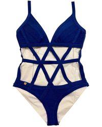 Hervé Léger Swimwear - Blue