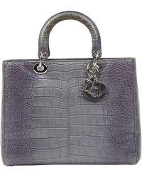 Dior Lady Krokodil handtaschen - Mehrfarbig