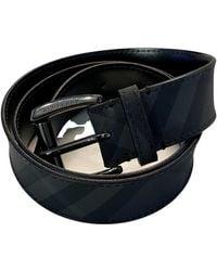 Burberry Leather Belt - Black