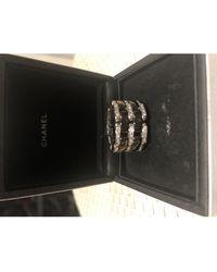 Chanel Ultra Weißgold Ringe - Schwarz